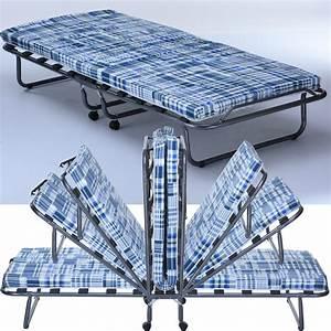 Gästebett Matratze Klappbar : g stebett basic mit matratze klappbar 80 x 190 cm real ~ Orissabook.com Haus und Dekorationen