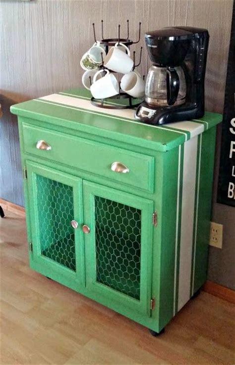 Little Vintage Cottage: Microwave Cart Redo   Furniture