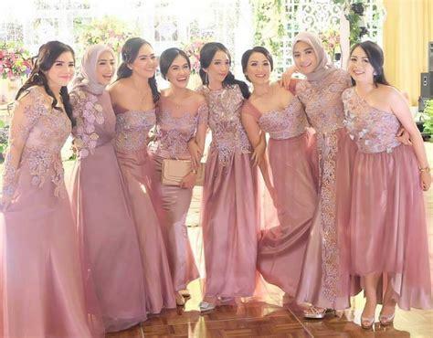 bridesmaid inspiration by ameliapungky kostum kondangan in 2019 pinterest kebaya wedding