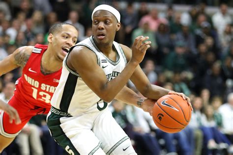 michigan state basketball  takeaways  senior day win