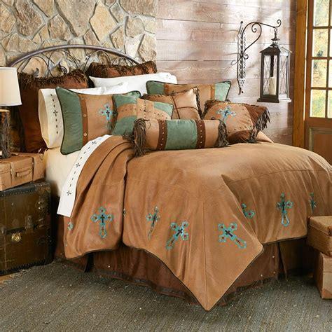 western comforter sets las cruces ii western cross comforter set