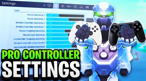 controller settings  fortnite pro player settings