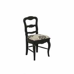 Chaise En Pin : chaise en tissu et pin louise noir interior 39 s ~ Teatrodelosmanantiales.com Idées de Décoration