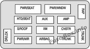 Fuse Box Diagrams  U0026gt  Chevrolet Monte Carlo  2006
