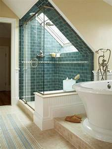 Duschkabine Selber Bauen : elegante duschkabine und wei e badewanne unter dachschr ge bath pinterest duschkabine ~ Bigdaddyawards.com Haus und Dekorationen