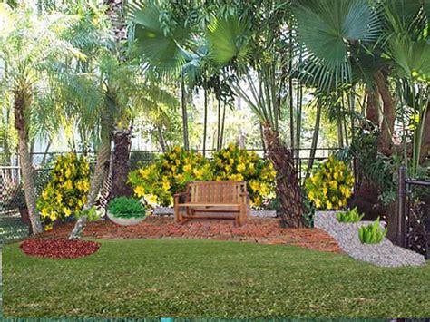 florida landscaping plans huis muur landscape design for florida home