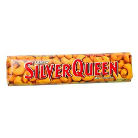 jual silverqueen cashew gr coklat silver queen kacang