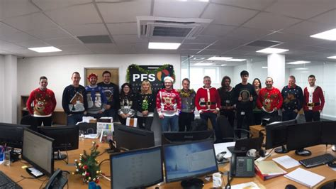 Christmas Jumper Day At Pfs