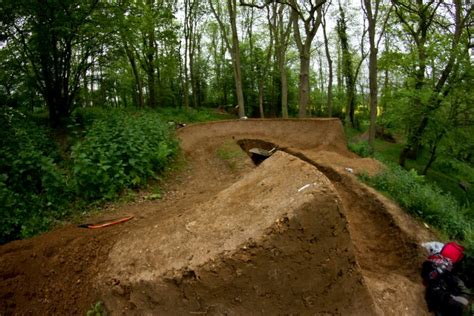 build a berm how to build a berm with a kick at the exit of it pinkbike forum