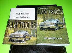 2017 Dodge Ram User Guide Owners Manual Set W  Case 17 Dvd