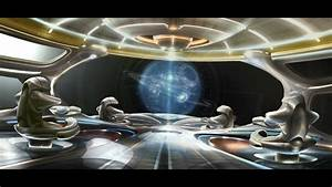 Inside Futuristic Space Station - Pics about space