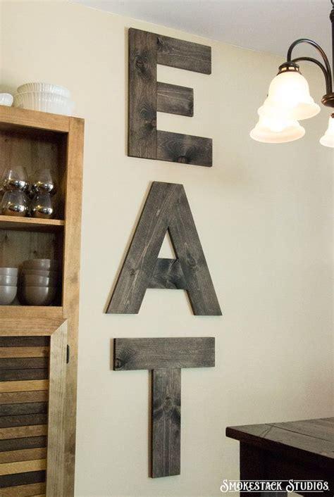 large eat sign   home decor rustic kitchen decor