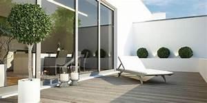 terrasse balkon With markise balkon mit schöner wohnen tapete blumen