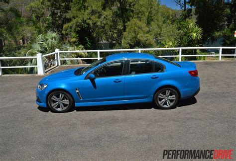 holden vf commodore sv review video performancedrive