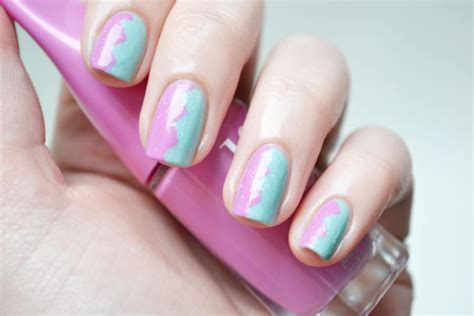 nail art facile  tutoriels  faire avec du scotch