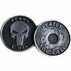 Punisher Challenge Coin | my gear | Pinterest | Pewter ...