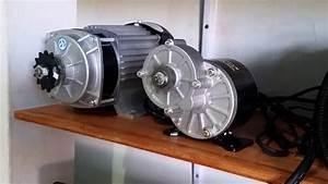 Dc Motor 36v 350w Test 1 Volt Dc - Sepeda Listrik