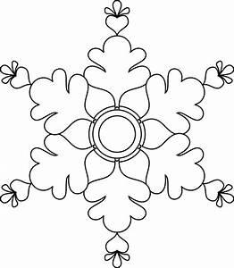 Flocon De Neige En Papier Facile Maternelle : un flocon de neige coloriages ~ Melissatoandfro.com Idées de Décoration