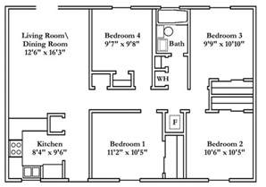4 bedroom floor plan small 4 bedroom house plans free typical floor plans powering silicon valley san jose
