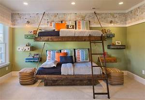 15 Charming Rustic Kids39 Room Designs That Strike With
