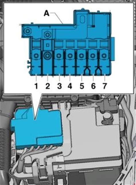 Audi A5 Fuse Diagram by Audi A1 Fuse Box Diagram Auto Genius