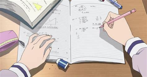 anime study aesthetic