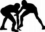 レスリング シルエット に対する画像結果