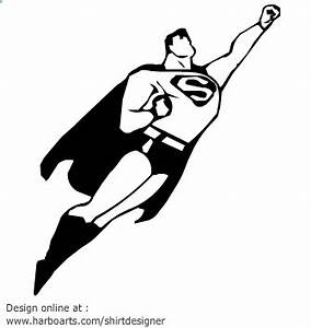 superman-cartoon-silhouette | Projects to Try | Pinterest ...