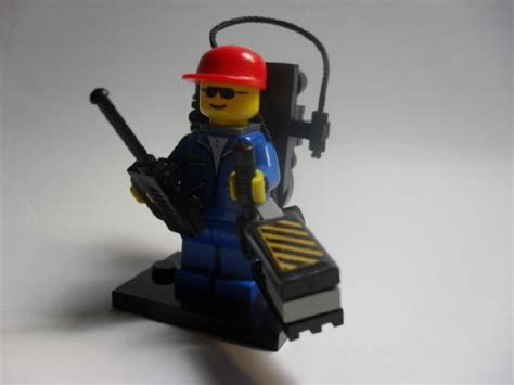 Lego Proton Pack by Ghostbuster Minifig A Lego 174 Creation By Andr 233 Fontes