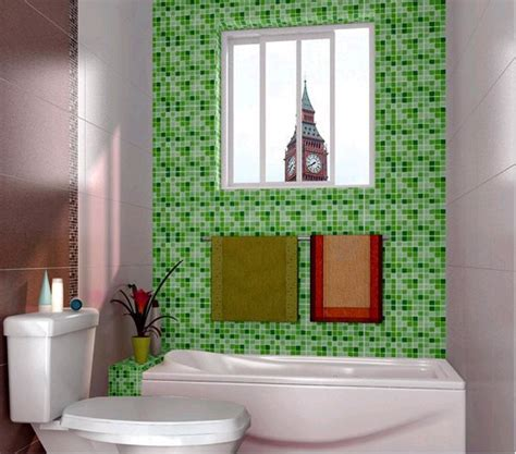 waterproof wallpaper  bathroom decorativepvc mosaic
