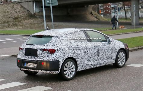 Spied Allnew Opel Astra Hatch Shows Off Production