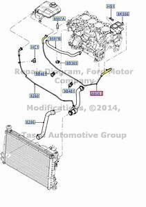Brand New Oem Radiator Coolant Overflow Tank Hose 2004