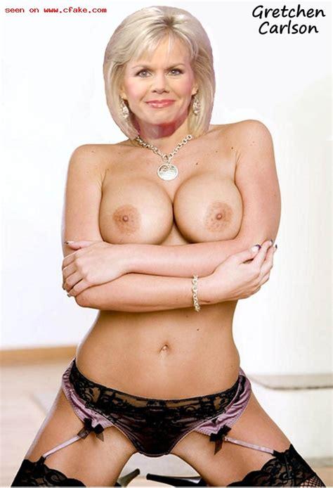 Celebrity Fakes Show Newest Gretchen Carlson
