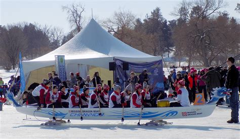 Dragon Boat Lake James by Dragon Boat Racing On Ice Caps Winterlude In Ottawa 171 All In