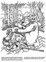 Coloring Pages Dover Publications Mountain History Fur Trapping Sheets Welcome American Colouring Doverpublications Hugh Samples Glass Books Drawing sketch template