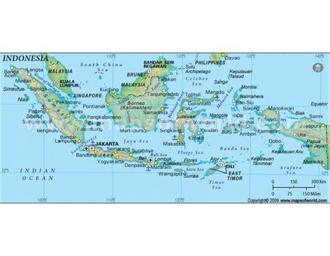 buy indonesia political map dark green