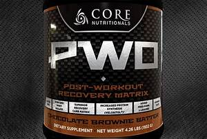 Core Pwo Updated With Velositol  Carb10  Cluster Dextrin  And More