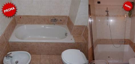 trasformazione vasca  doccia senza opere murarie