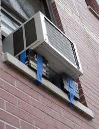 air conditioners fall   nyc windows