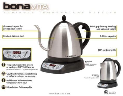 kettle coffee electric french press looks want bonavita