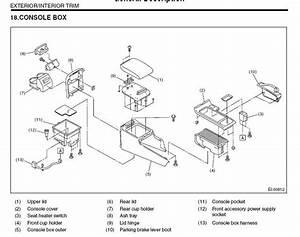 Oem Parts Diagram - Subaru Outback