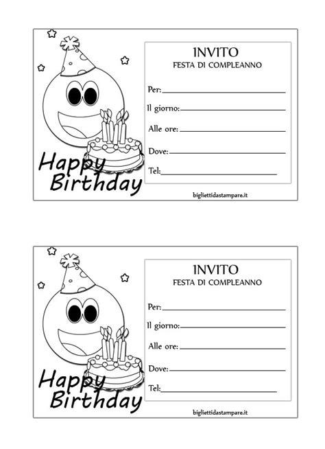 biglietti compleanno da stare unicorno inviti compleanno per bambini smile bigliettidastare it