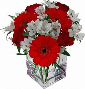 Small Red And White Flower Arrangements | www.pixshark.com ...