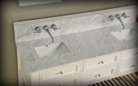 mission double bathroom vanity sink console direct