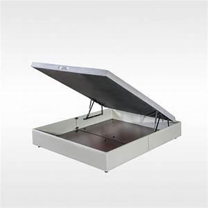 Coffre Lit 160x200 : lit coffre et sommier coffre toutes marques et dimensions ~ Teatrodelosmanantiales.com Idées de Décoration