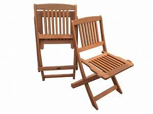 Chaise Jardin Bois : chaise jardin pliante en bois exotique hongkong maple marron clair lot de 2 54664 ~ Teatrodelosmanantiales.com Idées de Décoration