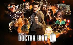 Doctor Who - Series 7 Part 1 Poster by dalekdom-fanart on ...