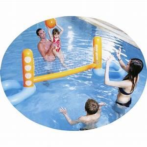 Jeu De Piscine : jeu de volley ball de piscine gonflable ~ Melissatoandfro.com Idées de Décoration