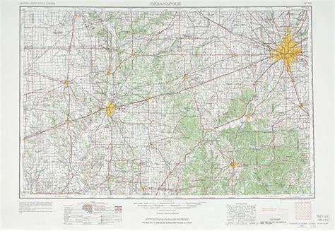 Indianapolis topographic maps, IN, IL - USGS Topo Quad ...