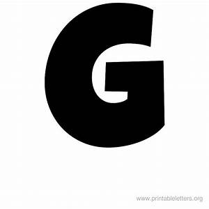 7 best images of large printable letter g printable With giant letter g